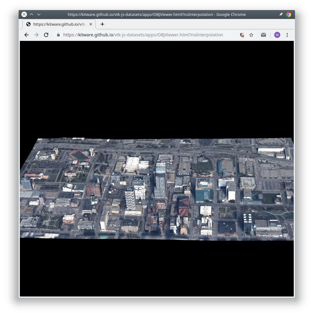 OBJ Viewer | vtk js application with datasets